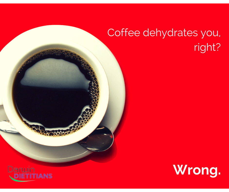 coffee does not dehydrate you