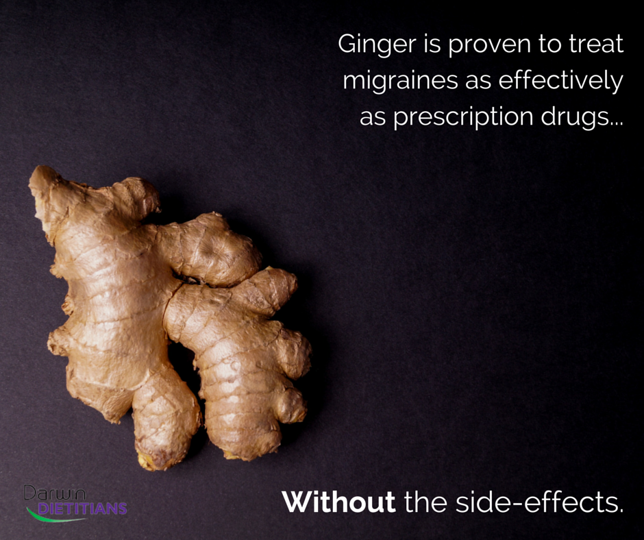 Ginger and migraines